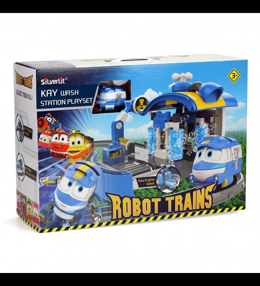 Robot Trains - Estação de Lavagem