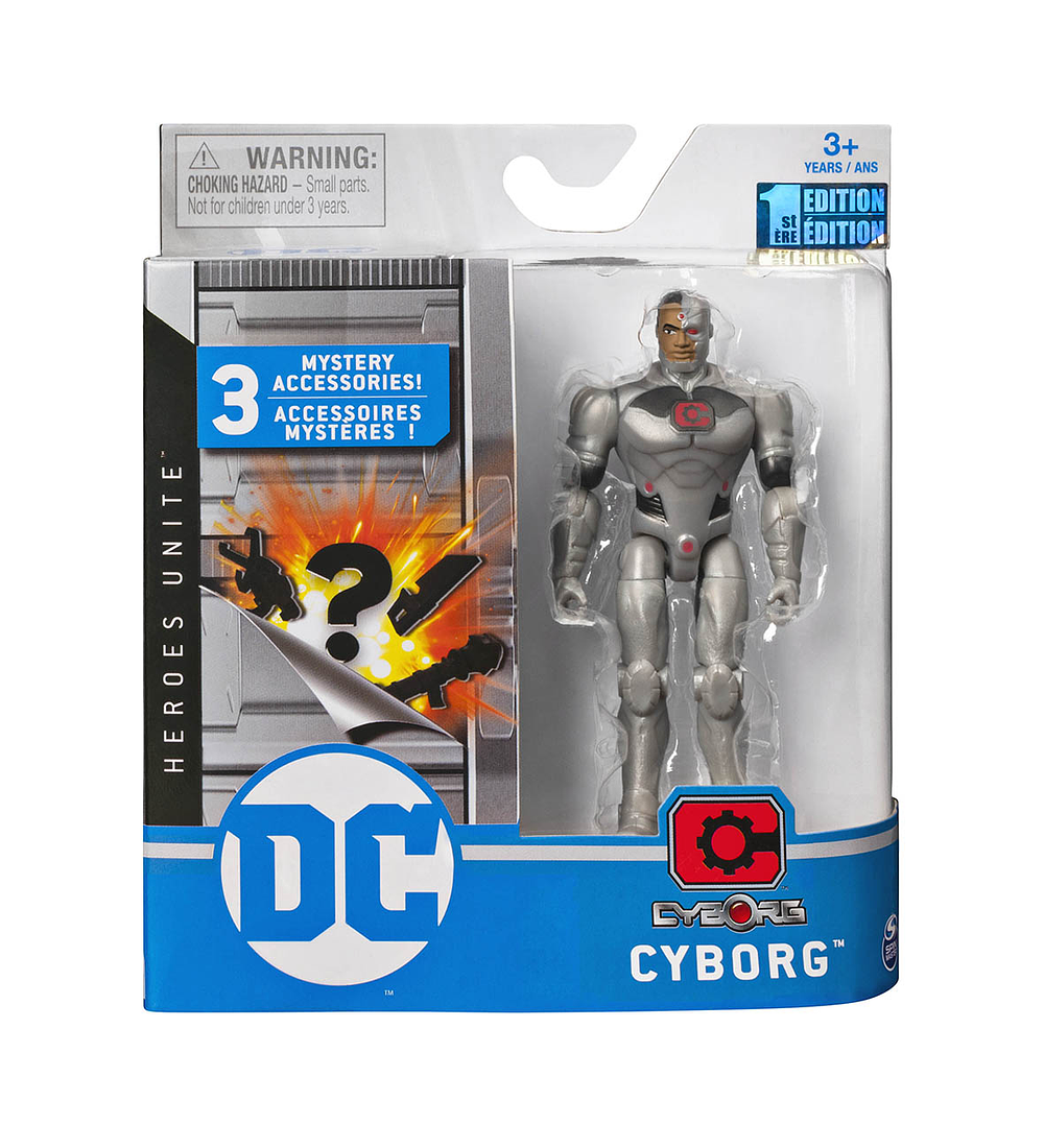 Figura Básica - Cyborg