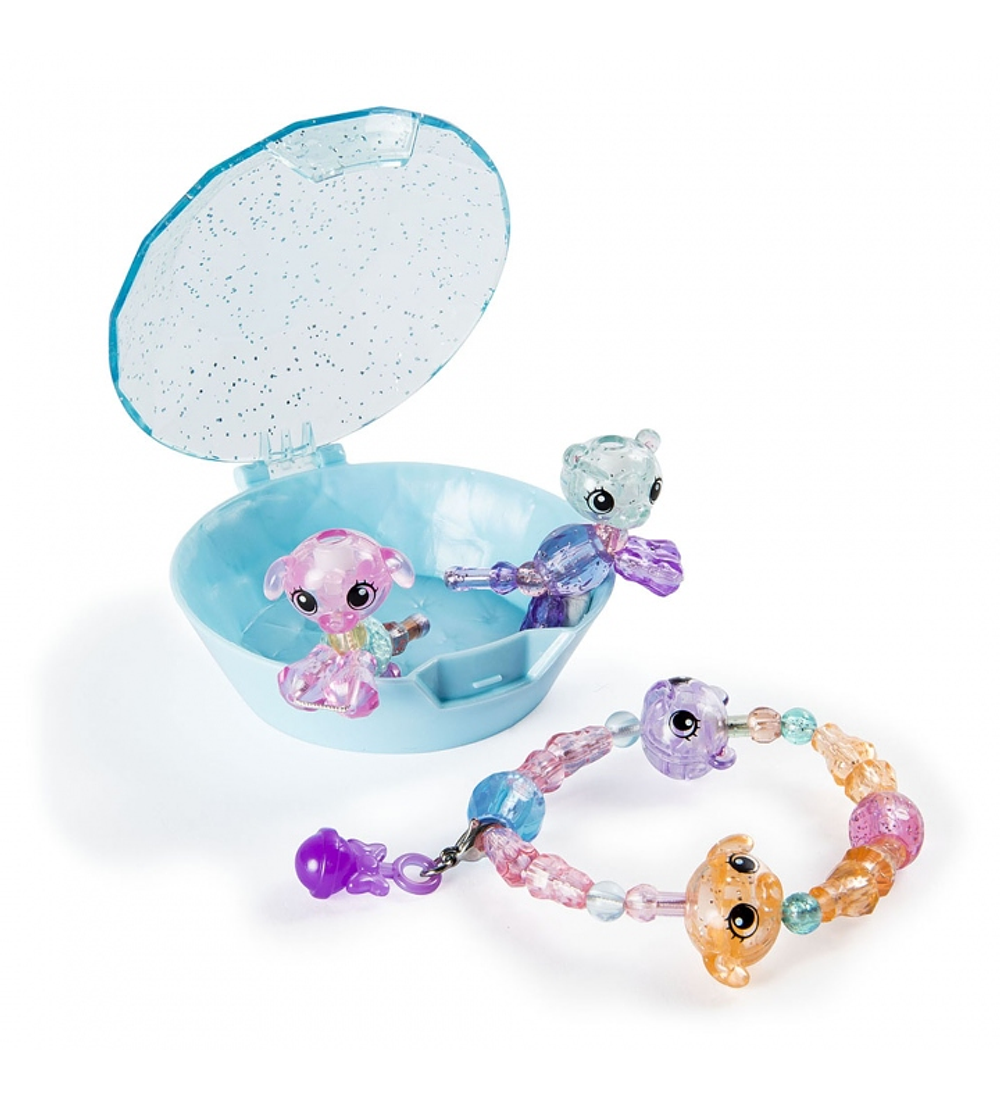 Twisty Petz - Pack 4 Bebés Azul