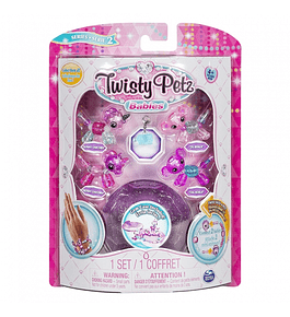 Twisty Petz - Pack 4 Bebés Roxo