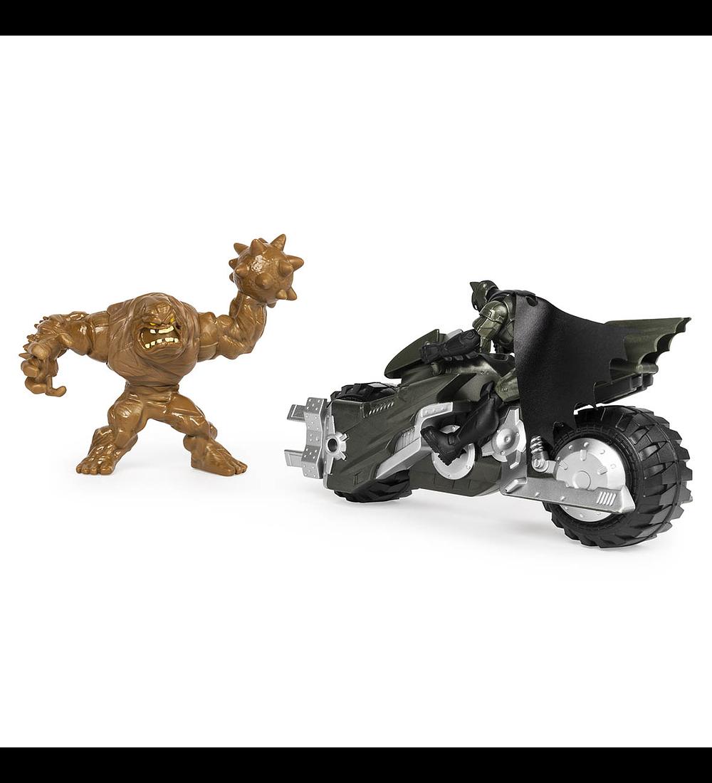 Veículo com 2 Figuras - Batmoto