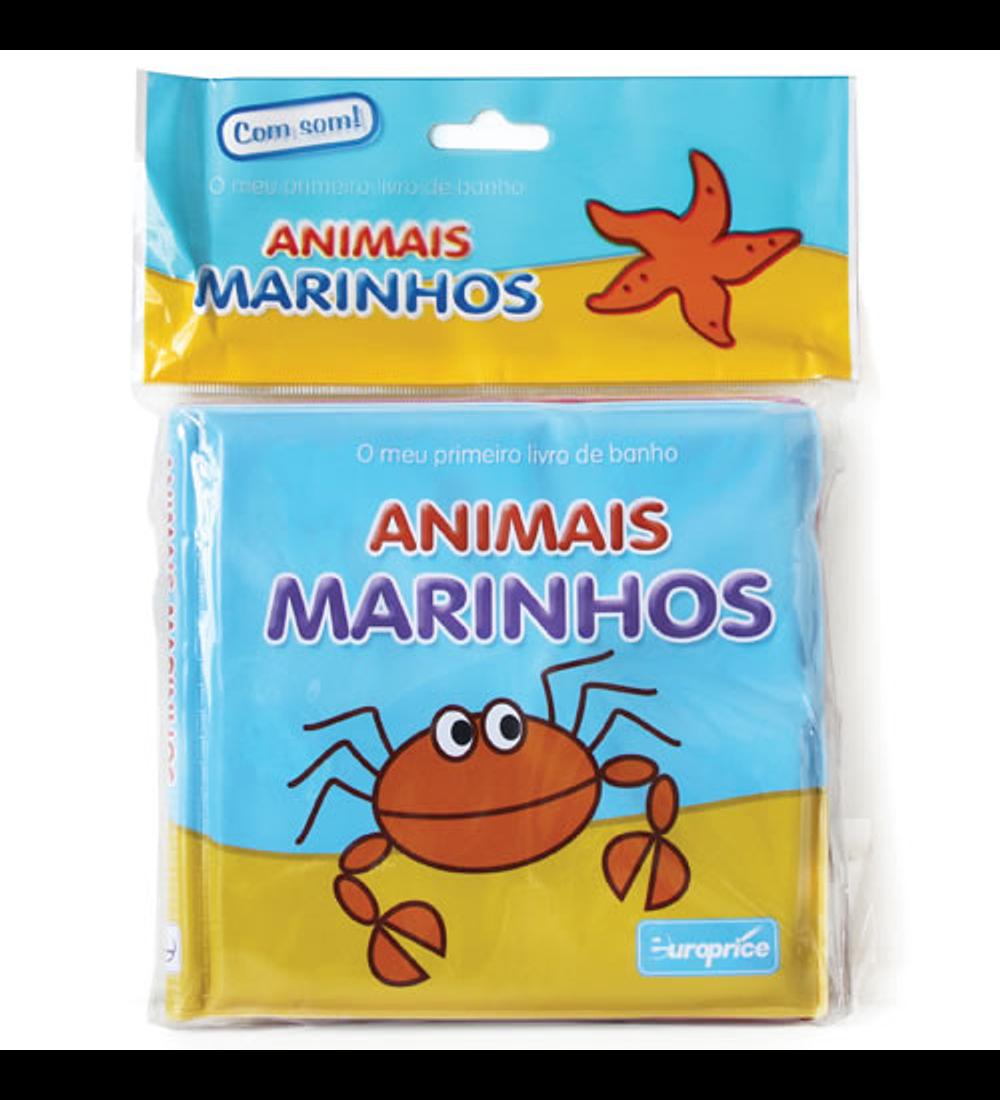 O meu primeiro livro de banho - Animais Marinhos