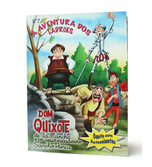 Dom Quixote - A Aventura dos Ladrões