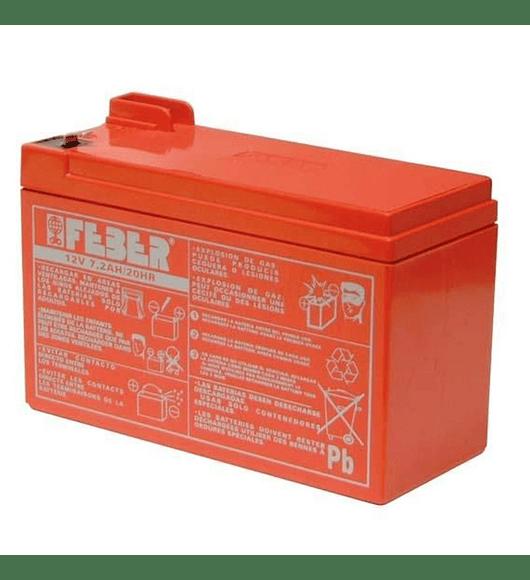 Bateria Feber 12V 7,2 Ah