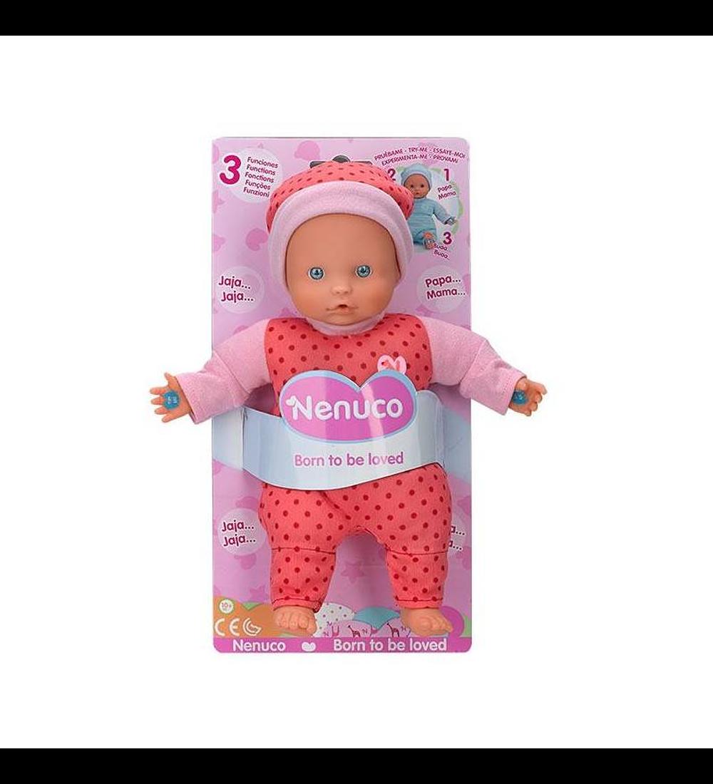 Nenuco Soft 3 Funções - Rosa