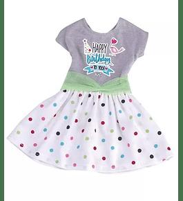 Nancy, Um Dia Trendy - Vestido de Aniversário