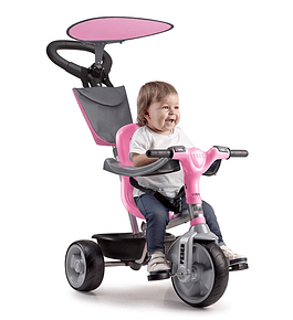 Triciclo Baby Plus Music Rosa