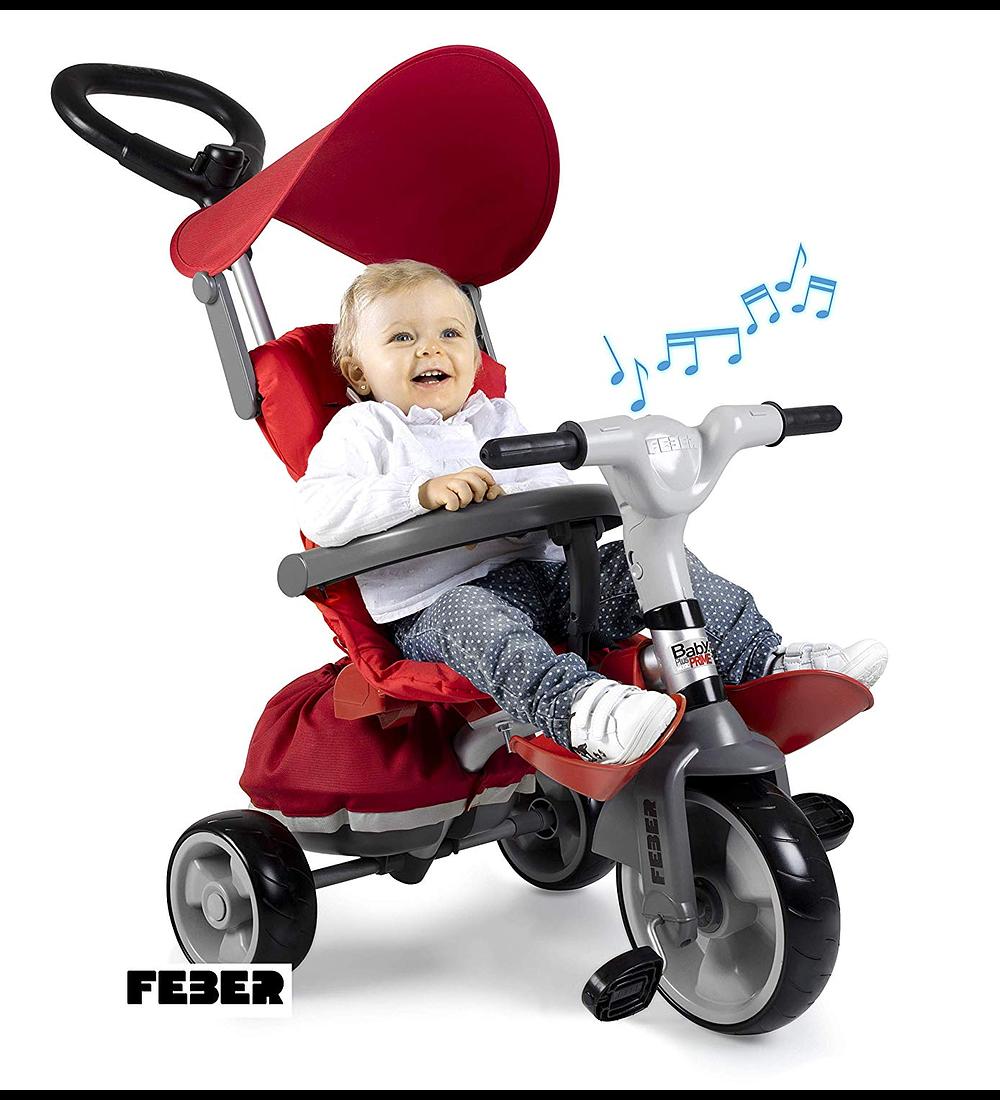Triciclo Baby Plus Music Prime