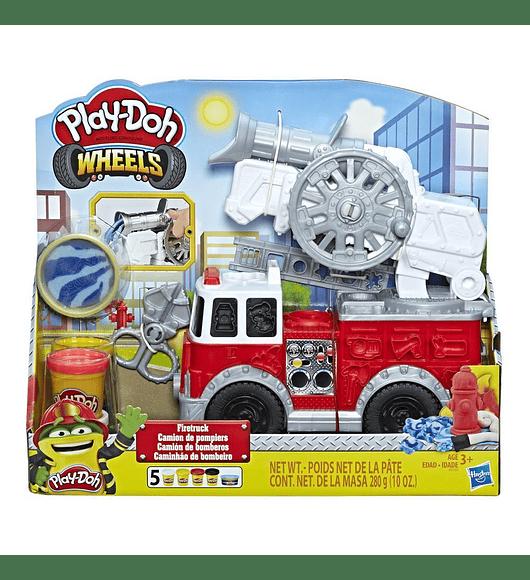 Camião dos Bombeiros Play-Doh
