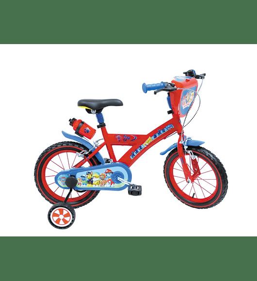 Bicicleta Patrulha Pata - 14 polegadas