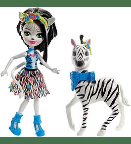 Boneca e Animal - Zelena Zebra