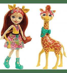 Boneca e Animal - Gillian Giraffe