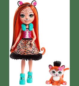 Boneca com Amigo - Tanzie Tiger