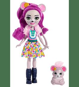Boneca com Amigo - Mayla Mouse