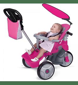 Triciclo Easy Evolution Rosa