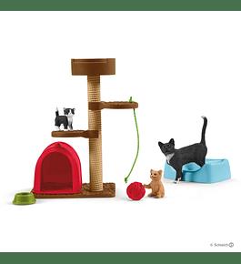 Hora de Brincar para Gatos