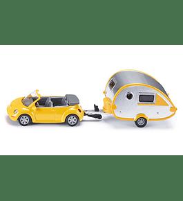 Siku - Carro com Caravana a Reboque
