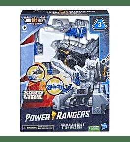 Power Rangers - Tricera Blade Zord & Stego Spike Zord