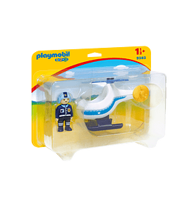 Helicóptero da Polícia 1.2.3