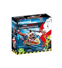 Venkman com Helicóptero