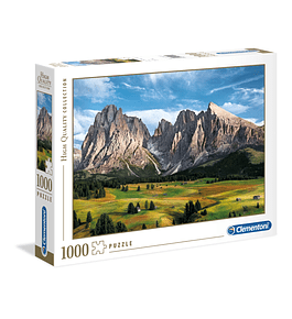 Puzzle 1000 pçs - The Coronation of the Alps