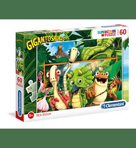 Puzzle 60 pçs - Gigantosaurus