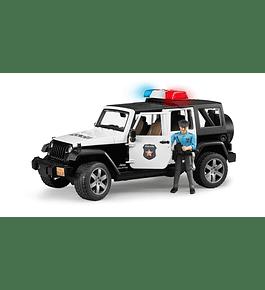 Jeep Wrangler Unlimited Rubicon da Polícia
