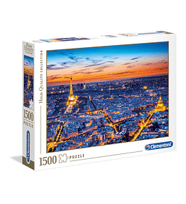 Puzzle 1500 pçs - Paris View