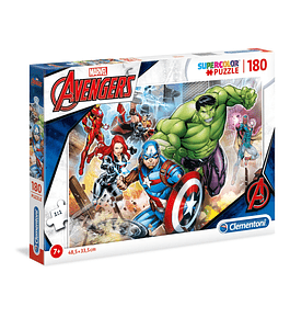 Puzzle 180 pçs - Marvel Avengers