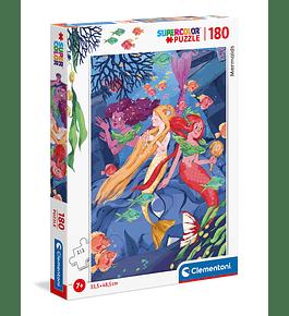 Puzzle 180 pçs - Mermaids