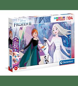 Puzzle Jewels 104 pçs - Frozen