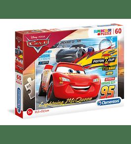 Puzzle 60 pçs - Cars