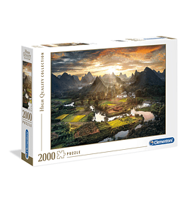 Puzzle 2000 pçs - View of China