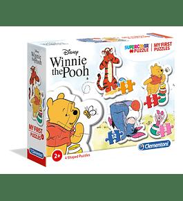Puzzle 3+6+9+12 pçs - Winnie The Pooh
