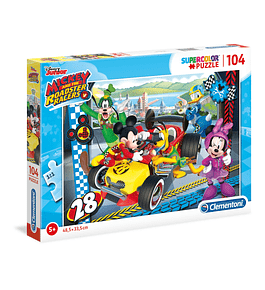 Puzzle 104 pçs - Mickey and The Roadster Racers