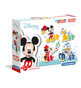 Puzzle 3+6+9+12 pçs - Mickey Mouse