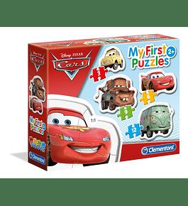 Puzzle 3+6+9+12 pçs - Cars