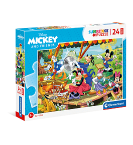 Puzzle Maxi 24 pçs - Mickey and Friends