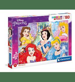 Puzzle 180 pçs - Princesas