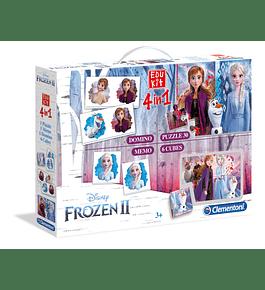 Edukit 4 em 1 - Frozen II