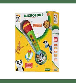 Microfone Pequeno Musical do Panda