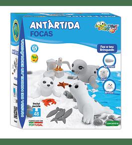 JumpingClay - Antártida Focas