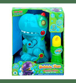 Bubble Fun - Dinossauro Azul Bolas de Sabão
