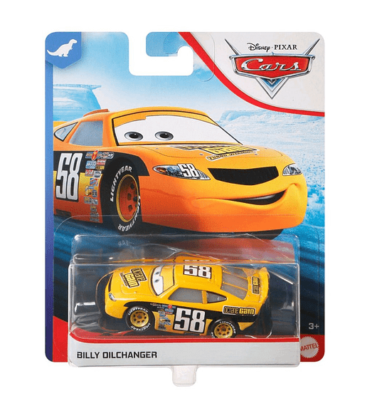 Cars 3 - Billy Dilchanger