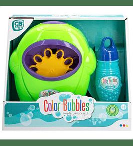 Color Bubbles - Máquina de Bolas de Sabão Verde