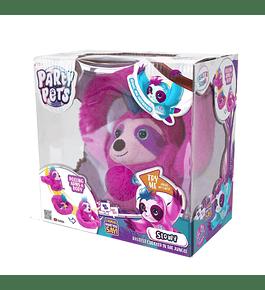 Party Pets - Preguiça Vagarosa Rosa