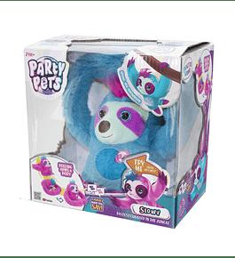 Party Pets - Preguiça Vagarosa Azul