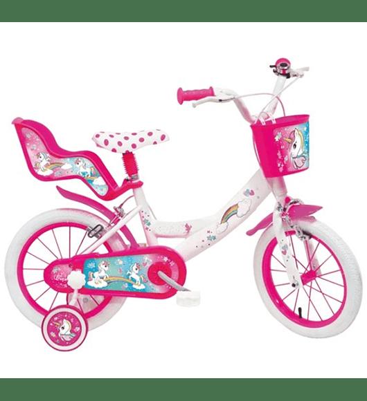 Bicicleta Unicórnio - 16 polegadas