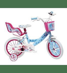 Bicicleta Frozen II - 14 polegadas