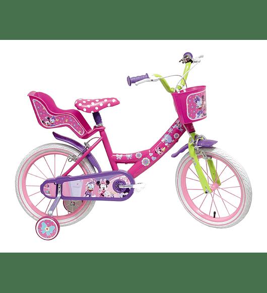 Bicicleta Minnie - 14 polegadas
